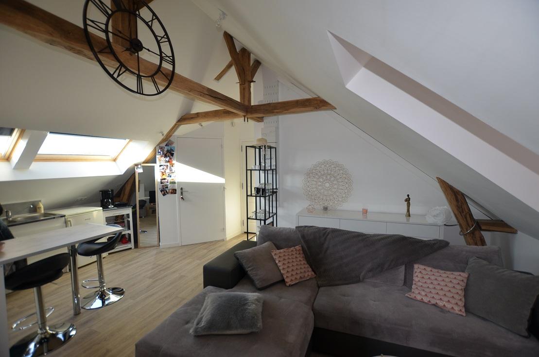 appartement sous comble 1 chambre epaignes centre. Black Bedroom Furniture Sets. Home Design Ideas